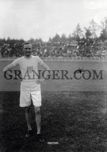Image of Athletics Meeting For The Entrants Of The 1912 Summer ...