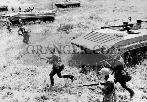 e3b46e2bb5c Military exercises of the motorized military held in the Soviet Baltic