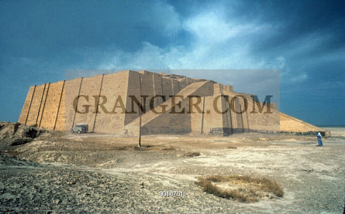 IRAQ: ZIGGURAT IN UR. 